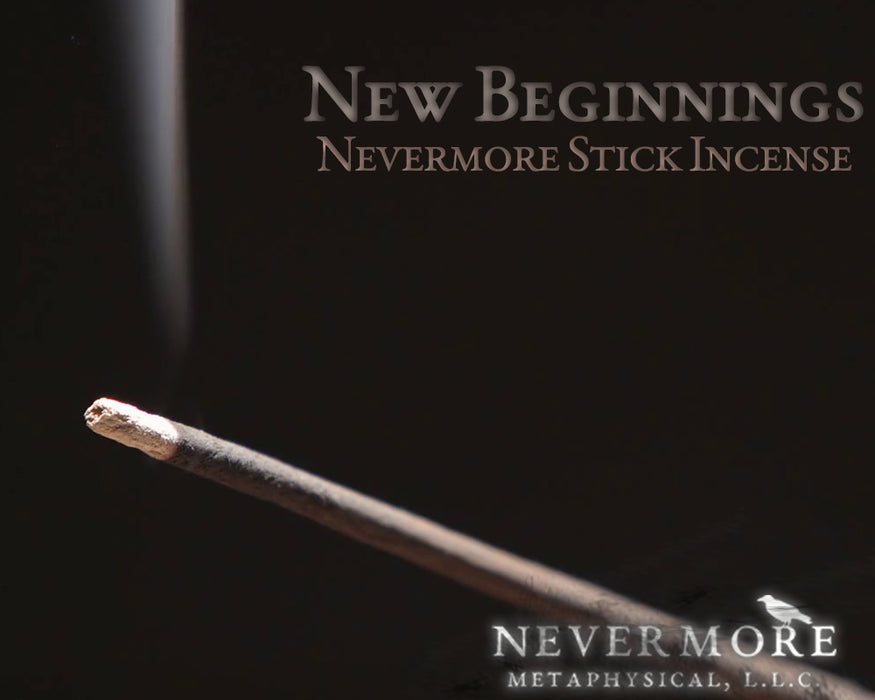 New Beginnings Incense Sticks - The Nevermore Coven