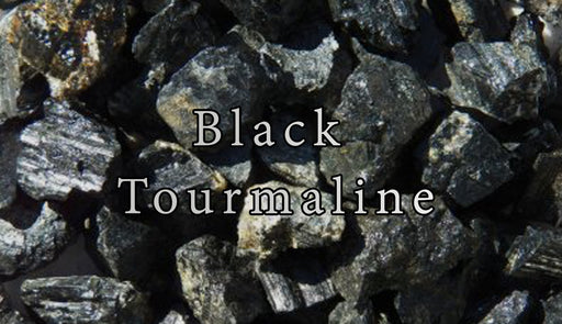 Rough Black Tourmaline Gemstones - The Nevermore Coven