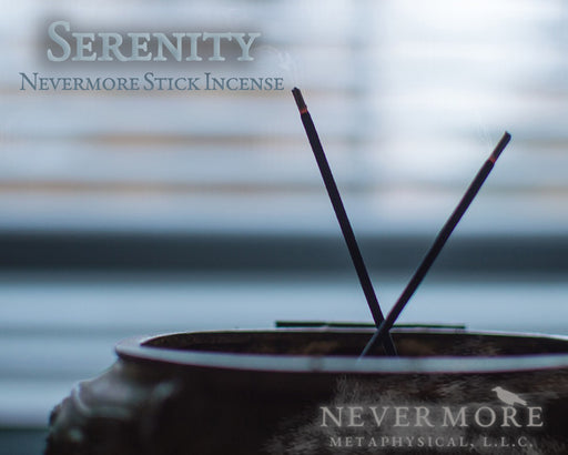 Serenity Incense Sticks - The Nevermore Coven