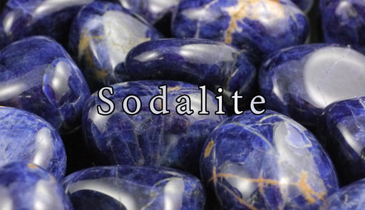 Sodalite Tumbled Gemstones - The Nevermore Coven