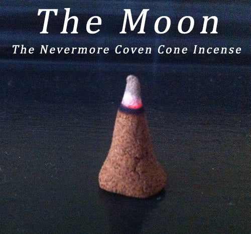 The Moon Incense 20 Cones - The Nevermore Coven