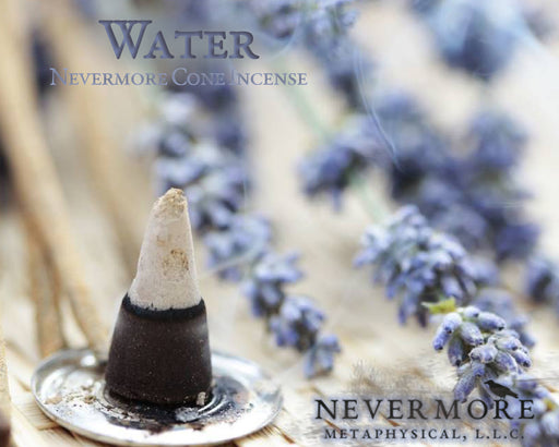 Water Incense Cones - The Nevermore Coven