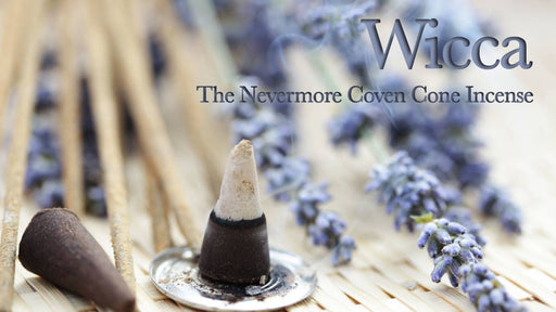 Wicca Incense 20 Cones - The Nevermore Coven