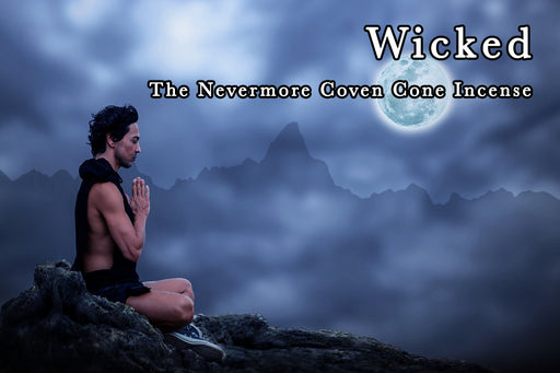 Wicked Incense 40 Cones - The Nevermore Coven