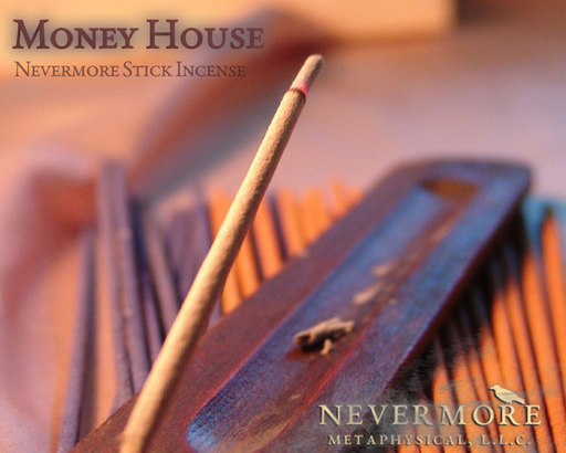Money House Incense  Sticks - The Nevermore Coven