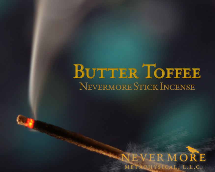 Butter Toffee Incense  Sticks - The Nevermore Coven