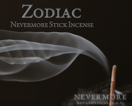 Zodiac Incense  Sticks - The Nevermore Coven