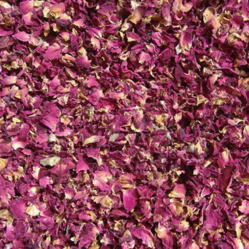 Red Rose Dried Flowers & Petals - The Nevermore Coven