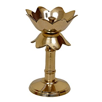 Kamla design Lamp/Deep/ Diya Stand for pooja and traditional gift