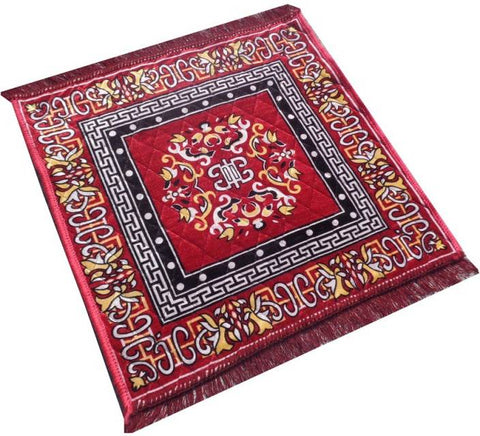 Pooja/ Meditation Asanan Cloth Big Size (24*24)