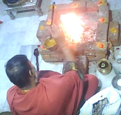 Chandika Homam Shared
