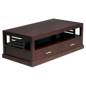 4-Drawer-San Diego Teak-Coffee-Table-WTC288CT-004-HSR-FL