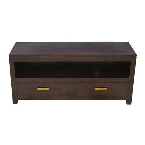 Los Angeles TV Console Teak-120cm-Entertainment-Unit-in-Mahogany-or-Chocolate Colour-WTC288SB-002-PNM