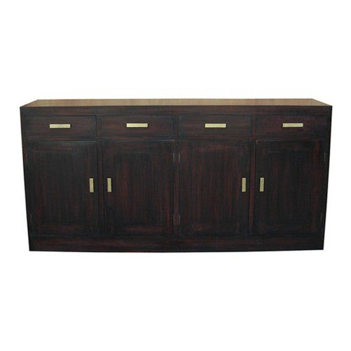 Los Angeles Teak Sideboard-4-Door-4-Drawer-Buffet-WTC288SB-404-PNM