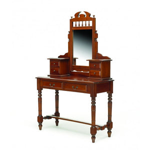 San Diego Teak+Dressing+Table+Mirror Vanity Desk WTC288
