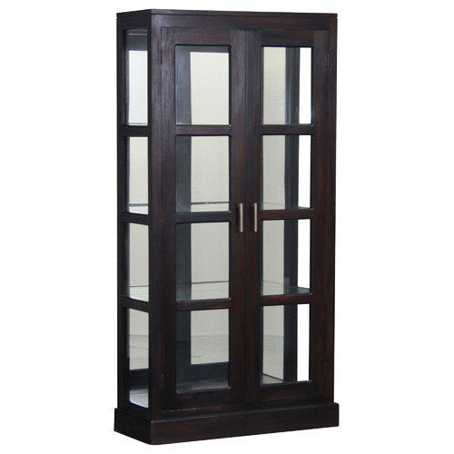 San Francisco-Mirror-Back-Teak-Display-Cabinet-WTC288DC-200-MR-PNM-K