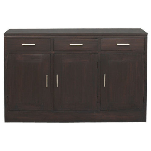San Francisco Teak Sideboard-3-Door-3-Drawer-Buffet-WTC288SB-303-PNM-K