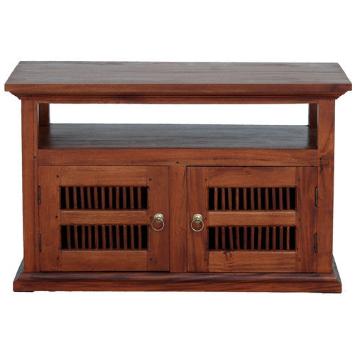 Seattle-2-Door-TV-Stand-Light Pecan Color WTC288TV-200-DW-LP