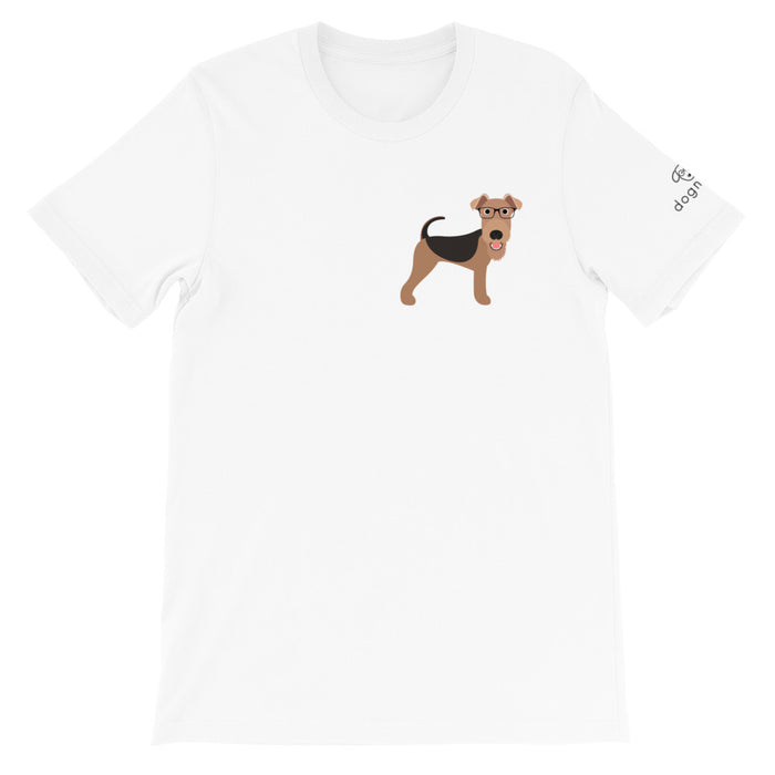 Airedale Terrier tee - unisex