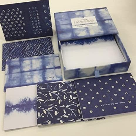 Indigo Greeting Assortment Boxed Notecards