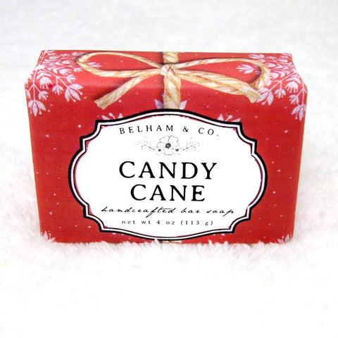 CANDY CANE Soap -- Winter/Holiday