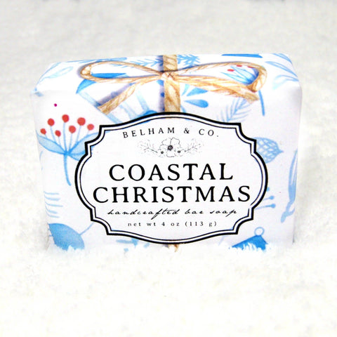 COASTAL CHRISTMAS Soap -- Winter/Holiday