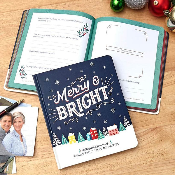Merry & Bright: A Keepsake Journal of Family Christmas Memories