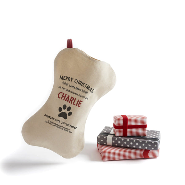 Personalize At Home Pet Stocking (Cotton)
