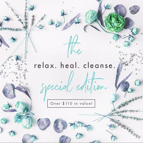 "The ""Relax. Heal. Cleanse."" Special Edition Box"
