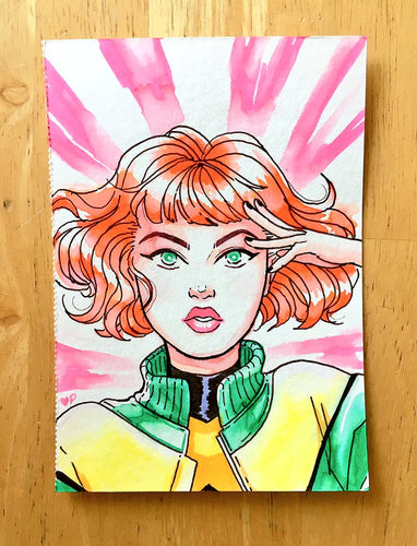 ORIGINAL ART- Jean Grey