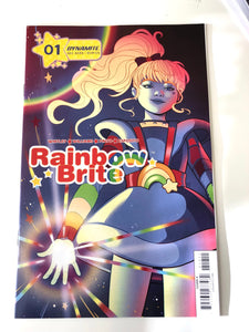 SIGNED Rainbow Brite #1 comic