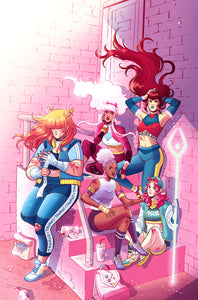 """The Zodiac Starforce"" 11 x 17 Print"