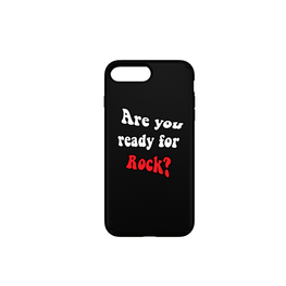 TeeBrand - Funda Móvil Are You Ready to Rock - Merchanfy Imprime tus camisetas