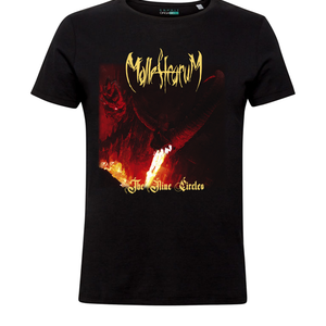 Malleficarum - Camiseta Negra The Nine Circles