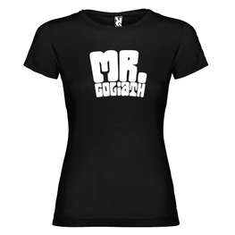 Mr Goliath - Camiseta Chica Logo Grande