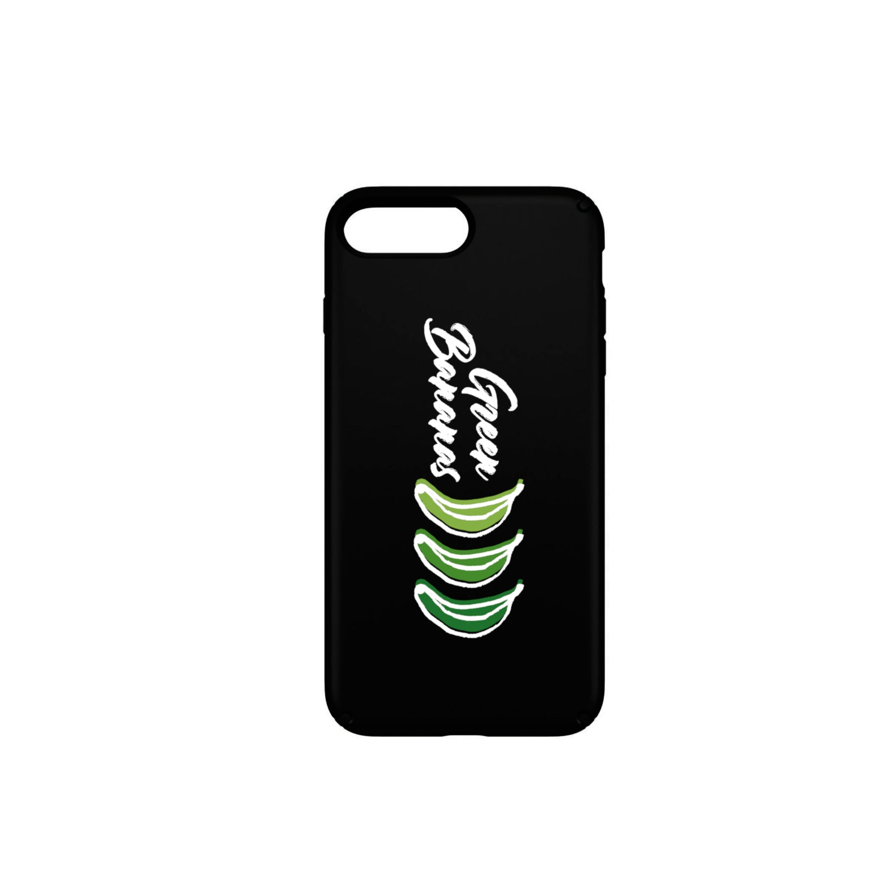Green Bananas - Funda Móvil Black Logo - Merchanfy Imprime tus camisetas