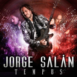 "CD + DVD Jorge Salán ""Tempus"" + ""20 años no son nada"""