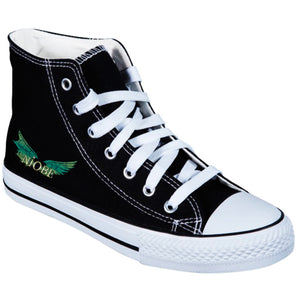 Niobe - Zapatilla Wings Green - Merchanfy Imprime tus camisetas