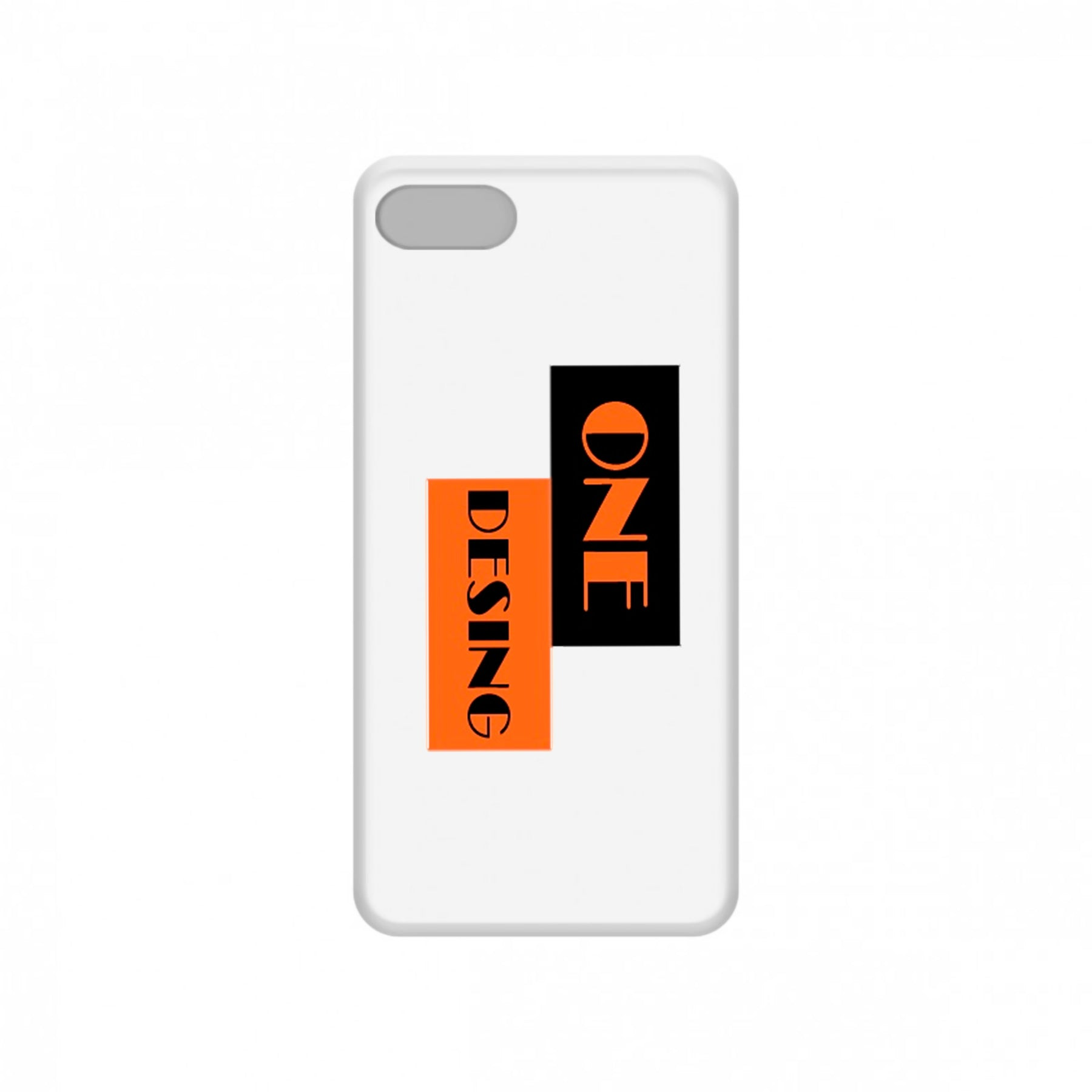 One Design - Funda Móvil White Logo - Merchanfy Imprime tus camisetas