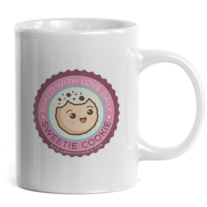 Sweetie Cookie - Taza Sweetie Cookie Daily - Merchanfy Imprime tus camisetas
