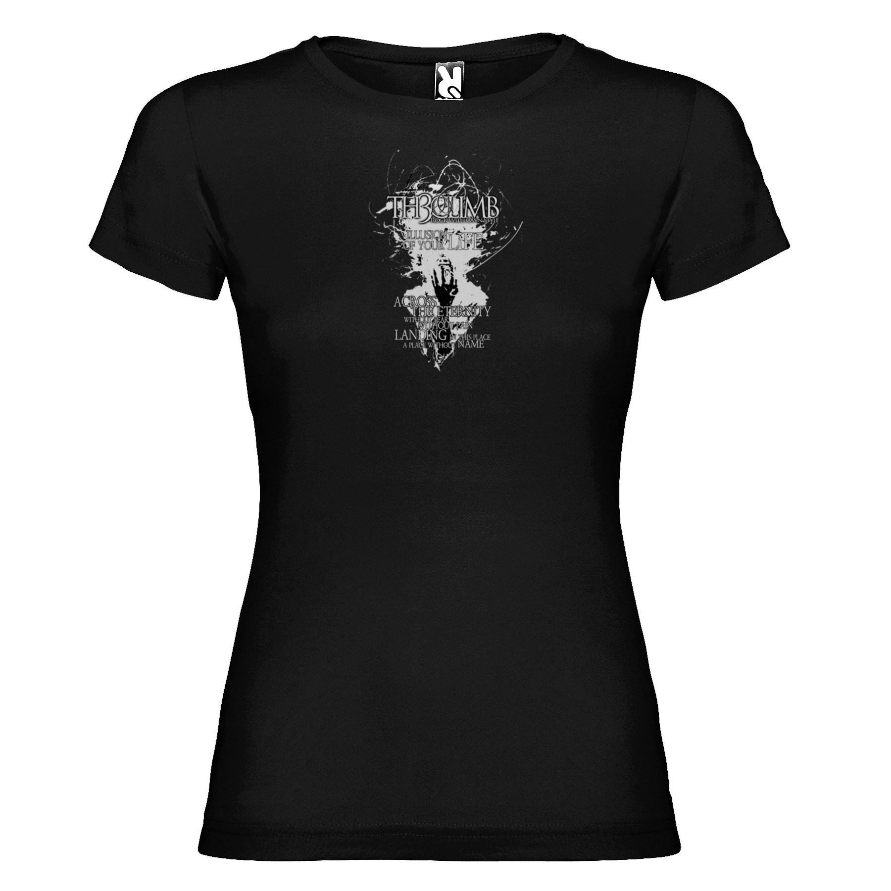 Th3Climb - Camiseta Chica Illusion - Merchanfy Imprime tus camisetas