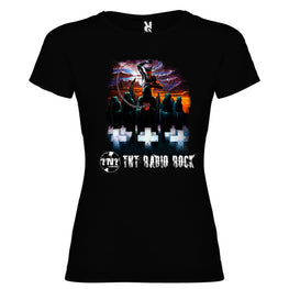 TNT Radio Rock - Camiseta Metal Chica - Merchanfy Imprime tus camisetas