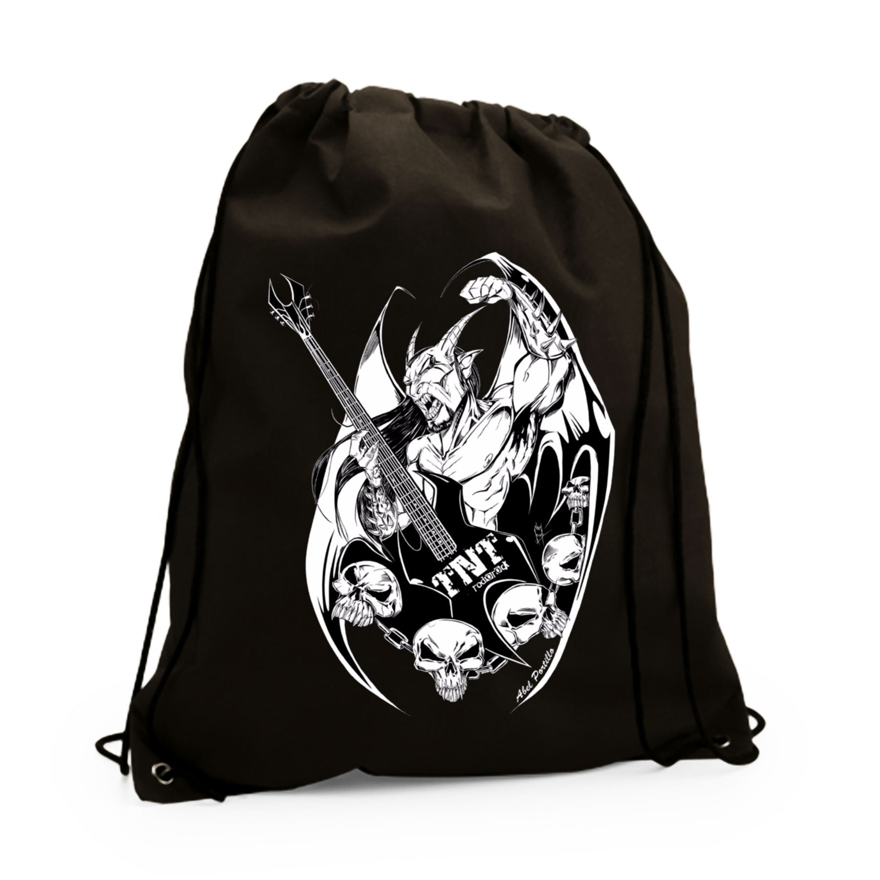 TNT Radio Rock - Mochila Demon - Merchanfy Imprime tus camisetas