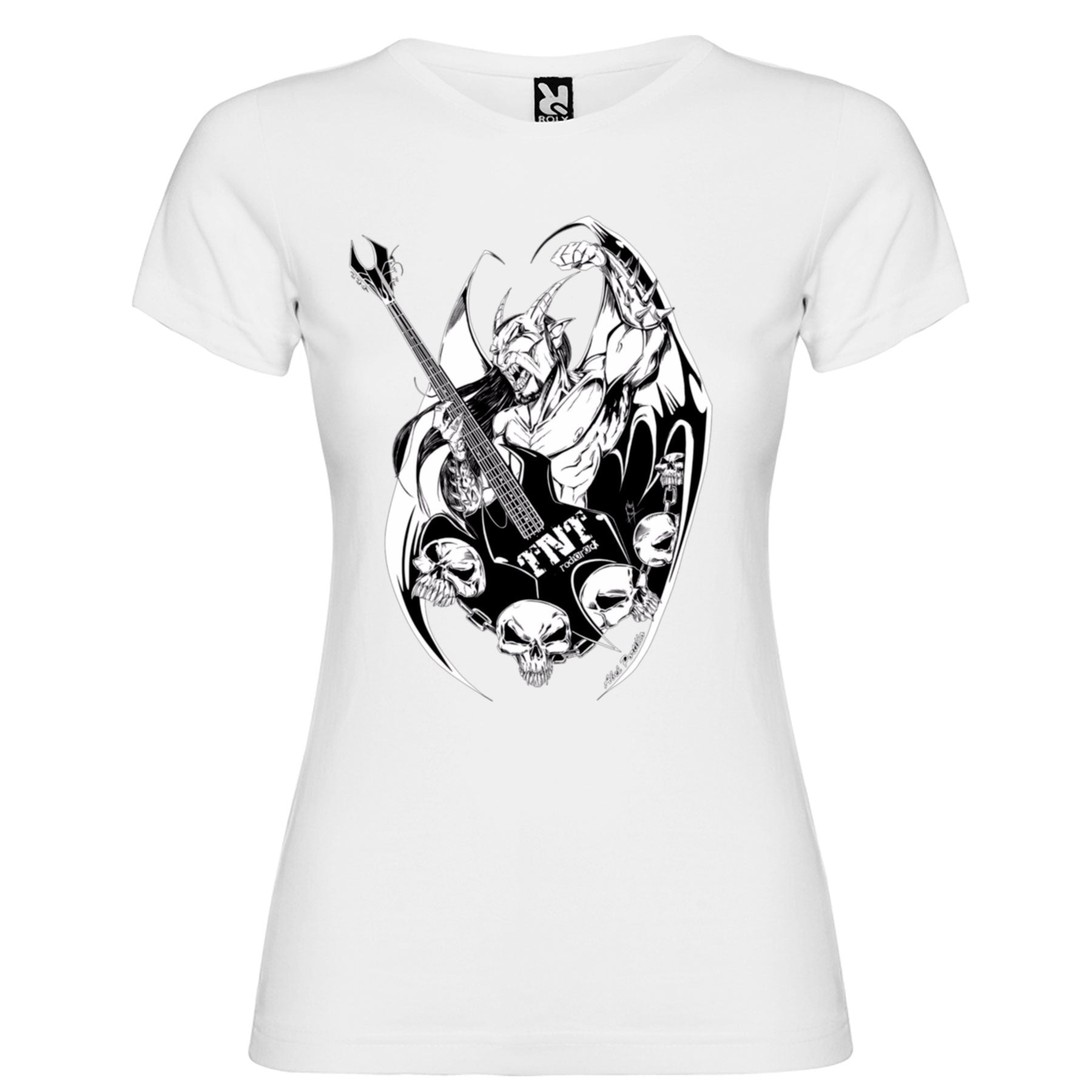 TNT Radio Rock - Camiseta Demon Chica - Merchanfy Imprime tus camisetas