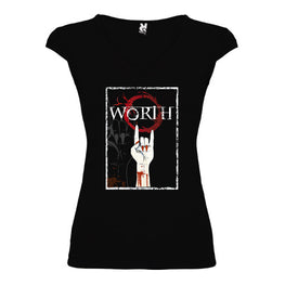 Worth - Camiseta Logo Chica Martinica - Merchanfy Imprime tus camisetas
