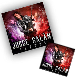 "LP + CD + DVD Jorge Salán ""Tempus"" + ""20 años no son nada"""