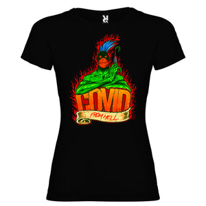 Covid from Hell - Camiseta Mujer