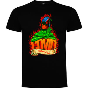 Covid from Hell - Camiseta Hombre