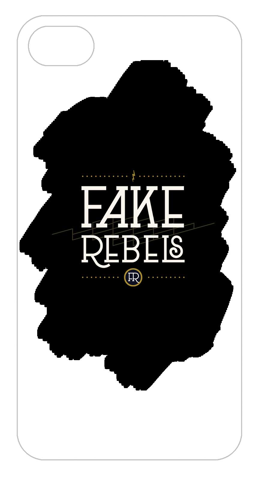 Fake Rebels - Funda Móvil Logo - Merchanfy Imprime tus camisetas