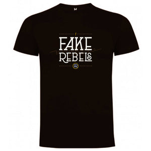 Fake Rebels - Camiseta Logo Chico - Merchanfy Imprime tus camisetas